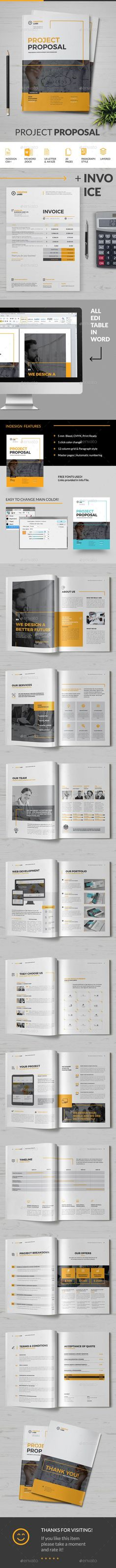 Proposal Business Project Proposal Template V280 Project