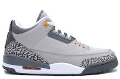 Air Jordan 3 cool grey. Only ones I would wear @ over 30 years of age.