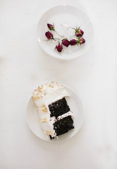 The Vanilla Bean Blog | chocolate cake with seven minute frosting