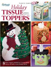 Holiday Tissue Toppers Plastic Canvas Pattern Download from Anniescatalog.com -- Create plastic canvas toppers for every occasion including Valentine's Day, St. Patrick's Day, Easter, Halloween, Thanksgiving and Christmas. 8 designs in all.