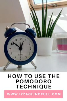 """Today I am sharing with you a simple tool I use to minimize procrastination - the Pomodoro Technique. Procrastination has always been a struggle for me. It takes me time getting started on tasks, especially on the more important ones. I have a number of excuses for not doing them on time - """"I'm too tired"""" or """"I can do it at a later time"""". The Pomodoro Technique is one of the most useful tools I have used lately. Let's begin. Take My Time, I Can Do It, Productivity, Tired, Minimalism, Number, Tools, Simple, Blog"""