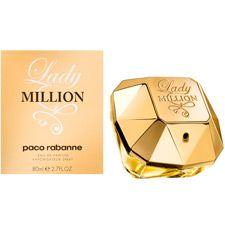 Bortoletto Cosméticos> Perfumes Importados>Paco Rabanne Lady Million 80ml Feminino $442,00 reais