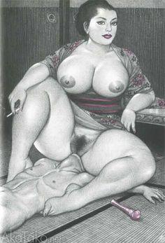 "from ""Glories Huge Hips"" by Namio Harukawa"