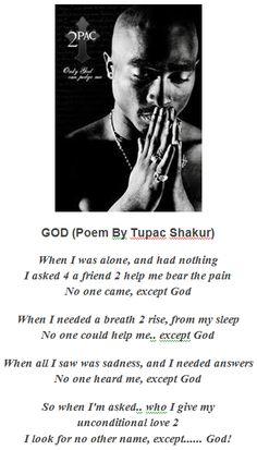 GOD  ~Tupac Shakur~