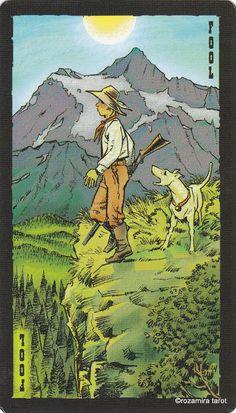 O. The Fool - The Prairie Tarot  by Robin Ator