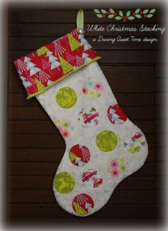 White Christmas Stocking | Flickr - Photo Sharing!