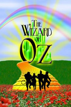 wizard of oz silhouettes   ... Wizard of Oz. The client provided the silhouette image and the poppies
