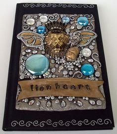 Lionheart Blank Journal by MandarinMoon on DeviantArt