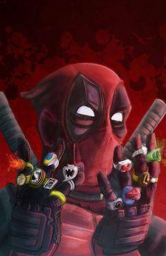 Deadpool Gemas Del Infinito