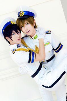 BAOZI and HANA(包子 & HANA) Haruka Nanase Cosplay Photo - WorldCosplay