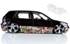 topdesignshop Wandtattoo Aufkleber und Gravuren Shop - Sticker Bomb Autofolie - car wrapping 3D Design A