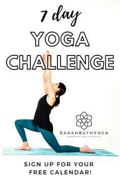 Join the 7 day yoga challenge to transform your body Morning Yoga Stretches, Morning Yoga Sequences, Morning Yoga Flow, Morning Yoga Routine, Yoga For All, Yoga For Back Pain, Hip Opening Yoga, Free Yoga Videos, Yoga For Stress Relief