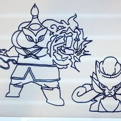 #characterdesign #mangas #drawing #raikou