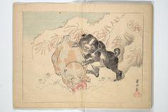 『暁斎楽画』<br/>Kyōsai's Drawings for Pleasure (Kyōsai rakuga)