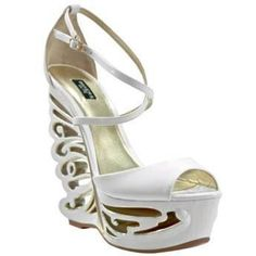 Bakers Butterfly White Wedges        white cutout wedge platform sandal Brand: Bakers Color: White Size: 8 Description: Blossom like a butterfly with this cutout wedged heel. (runs small) BAKERS ELITE      Bakers Butterfly White Wedges       | Shop this product here: spree.to/b9a | Shop all of our products at http://spreesy.com/britsstuff    | Pinterest selling powered by Spreesy.com