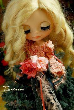 custom blythe by euniceeva, via Flickr