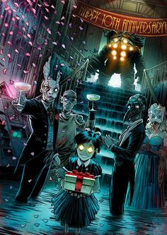 Post with 6151 votes and 217218 views. Tagged with bioshock; Shared by Bioshock 10 year anniversary Bioshock Infinite, Bioshock Rapture, Bioshock Game, Bioshock Series, Bioshock Artwork, King's Quest, Deco Gamer, Arte Lowrider, Horror