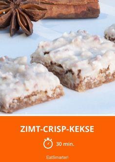 Zimt-Crisp-Kekse - smarter - Zeit: 30 Min. | eatsmarter.de