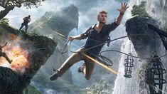 Uncharted is a video game series for Play Station that was created by Naughty Dog and distributed by Sony Computer Entertainment. This action-adventure third-person shooter game has now four video games, comic books and even film adaptations. Story-7 Strategy-7 Logic-7