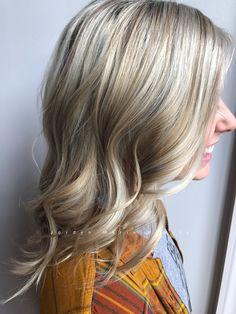 Blonde hair color!