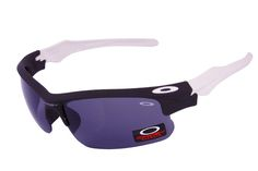 Oakley Fast Jacket Semi-Rimless White CRX