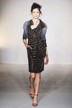 Great dress.  #VivienneWestwood Red Label #LFW