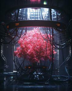 Cyberpunk Online — elayesildogan: Wire Tree by Cyberpunk City, Ville Cyberpunk, Cyberpunk Kunst, Cyberpunk Aesthetic, Futuristic City, Cyberpunk 2077, Cyberpunk Tattoo, Cyberpunk Games, Neon Aesthetic