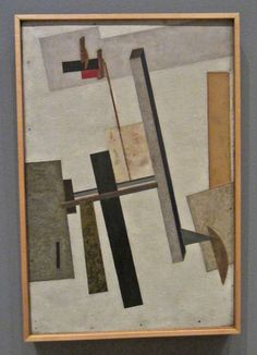 """'The private property aspect of creativity must be destroyed; all are creators and there is no reason of any sort for this division into artists and nonartists.' (El Lissitzky) -archive text 'Suprematism in World Reconstruction'1920: http://monoskop.org/images/0/03/Lissitzky_El_1920_Suprematism_in_World_Reconstruction.pdf  http://ksturgisjensen.wordpress.com/tag/el-lissitzky/  (Image: """"Proun 2C,"""" by El Lissitzky, 1920, oil, paper, metal foil on plywood; Philadelphia Museum of Art)"""