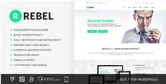 Themeforest WordPress: Rebel – WordPress Business Bootstrap Theme on THEMEFOREST FREE DOWNLOAD http://themeforestfreedownload.com