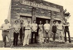 """Many of the folks in the above photograph came to be known as """"The Swampers"""" (session players from Muscle Shoals Sound) who Lynyrd Skynyrd immortalized in """"Sweet Home Alabama"""". Third from the right is David Hood, father of Patterson Hood of the Drive-By Truckers. Second from the left is the late Eddie Hinton."""