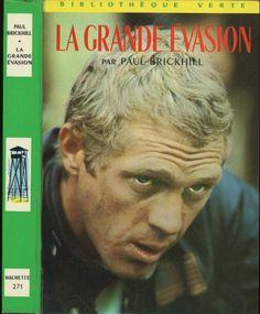 Photo film -  La Grande Évasion, Paul Brickhill, Hachette Bibliothèque Verte 1965