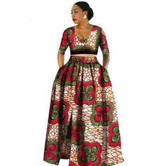 Image of African clothes for women,Tradition Two Piece Africa Clothing Designs, Plus Size Dashiki African for women African Fashion Designers, African Print Fashion, Africa Fashion, African Fashion Dresses, Fashion Prints, Fashion Outfits, Ankara Fashion, Fashion Ideas, Fashion Styles