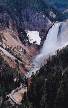 United States, Wyoming - Yellowstone National Park.