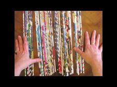 ▶ Rolled Paper Projects - YouTube