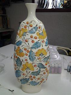 Ceramica pintada a mano