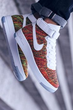 NIKE AF1 UF in bright crimson...wow!