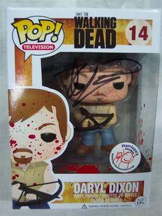 Daryl Dixon POP Figurine SIGNED by Robert Kirkman