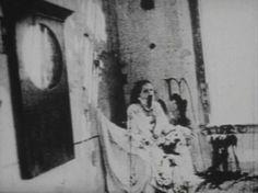 """Begotten"" silent horror movie. One of the most disturbing, horrifying scenes"