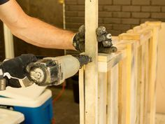 How To Build a Lemonade Stand From Shipping Pallets : Home Improvement : DIY Network