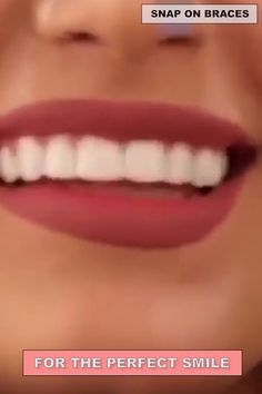 Each person on this planet owns a different set of teeth, that is why we will introduce you to a product that can give that IDEAL SMILE to every person, regardless what kind of teeth they have. Introducing the PERFECT SMILE SNAP ON BRACES. Natural Teething Remedies, Natural Cough Remedies, Cold Remedies, Natural Cures, Herbal Remedies, Warts On Face, Warts On Hands, Vicks Vaporub Uses, Uses For Vicks