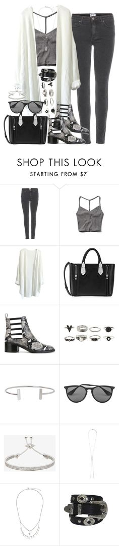 """""""Untitled #3592"""" by amylal ❤ liked on Polyvore featuring Acne Studios, Abercrombie & Fitch, Henri Bendel, Each X Other, Humble Chic, Vero Moda, Eddie Borgo, Forever 21 and Zimmermann"""