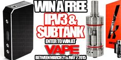 The and Subtank Giveaway is in full effect! Us here at VAPE.DEALS are HUGE boxing fans & thats fight night! Electronic Cigarette, Vape, Giveaway, How To Get, Check, Smoke, Vaping Mods, Electronic Cigarettes