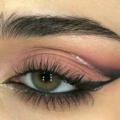Indie Makeup, Edgy Makeup, Skin Makeup, Makeup Inspo, Makeup Tips, Deep Set Eyes Makeup, Makeup Eye Looks, Beautiful Eye Makeup, Eyeshadow Guide
