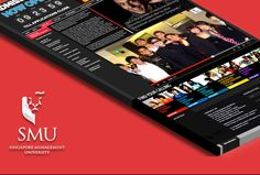 Revamped website for Singapore Management University's Undergraduate Admissions campaign