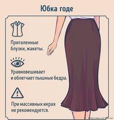 Модели юбок для урока