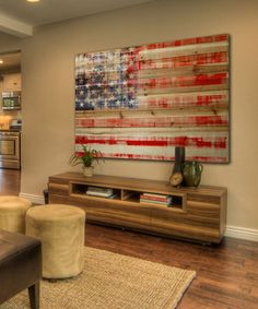 Look what I found on #zulily! American Flag Wood Wall Art #zulilyfinds