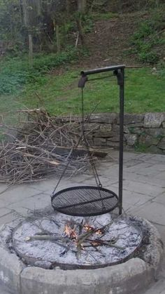 I like the curved ones better. Outdoor grill and fire pit - I like the curved ones better. Outdoor grill and fire pit I like the curved ones better. Outdoor grill and fire pit
