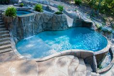 images of pool and hot tub combinations   arkansas pool builders backyard creations inc is a custom pool builder ...