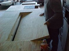 You've got to see this workbench. #WoodworkingPlansWorkbench