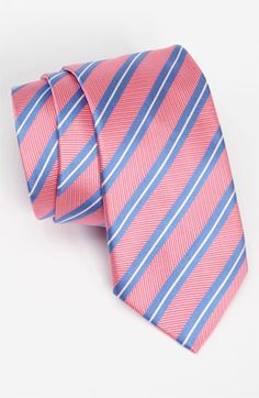 Thomas Pink Woven Silk Tie | Nordstrom